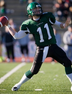 CFL  CALGARY STAMPEDERS SASKATCHEWAN ROUGHRIDERS